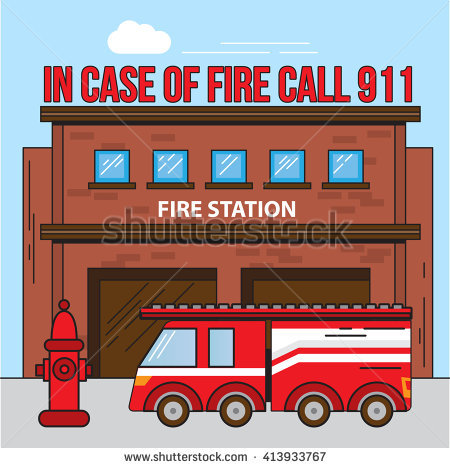 Fire station clipart 5 » Clipart Station.