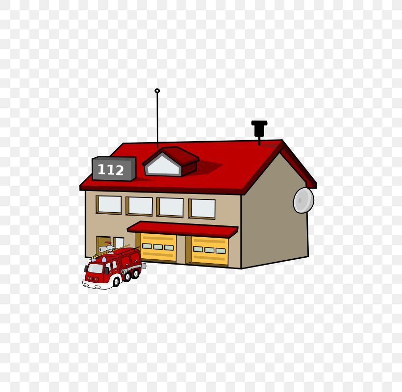 Fire Station Fire Department Fire Engine Clip Art, PNG.