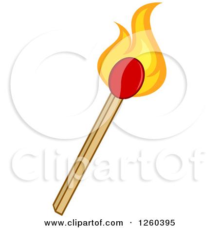 Fire stick clipart.
