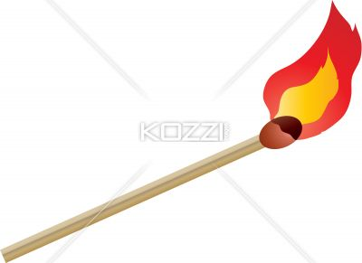 Fire stick clipart.