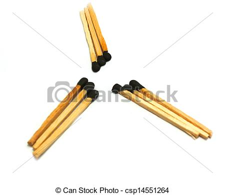 Stock Illustration of matches.