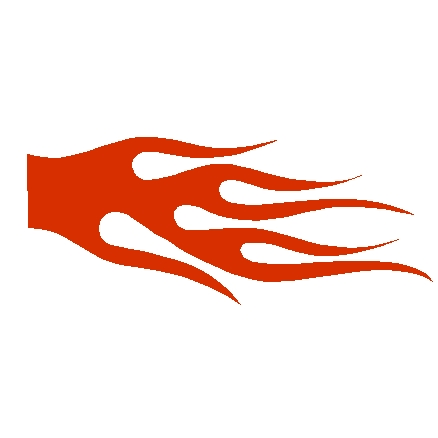 Flame Decal Designs, flame decals, flame stickers, fire.