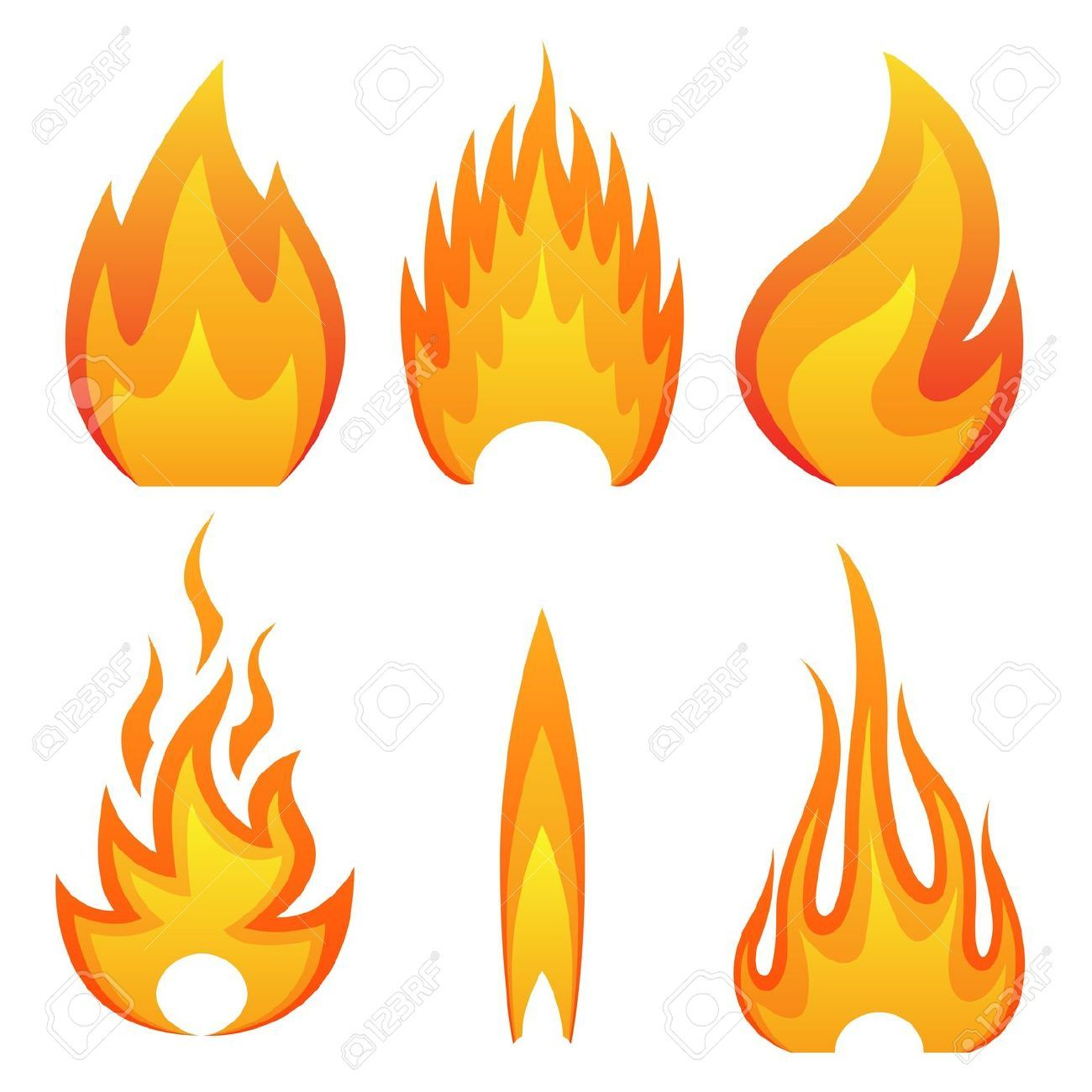 Fire Flame Stock Illustrations, Cliparts And Royalty Free.