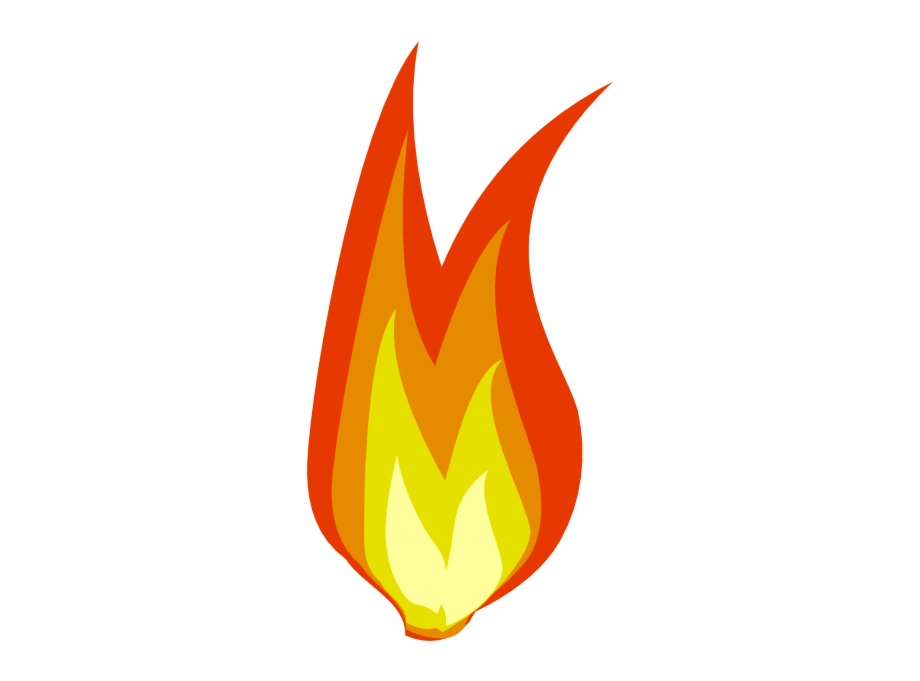 Clipart Flames Fire Symbol Mini Fire.