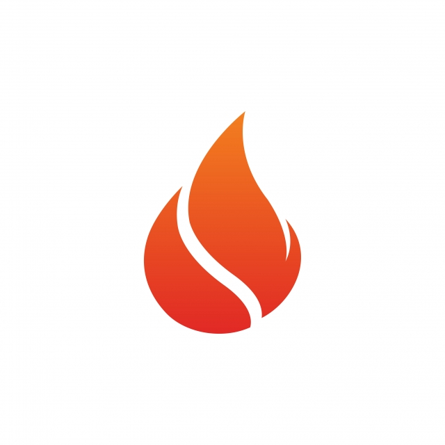 Fire Flame Icon Design Template Vector Isolated, Symbol, Fire, Icon.