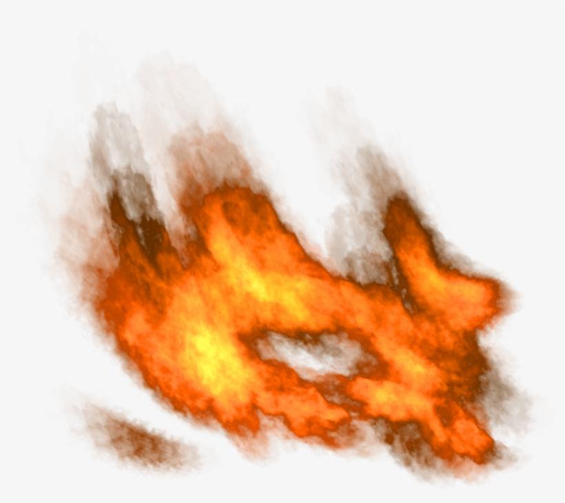 Flames Clipart Fireball.