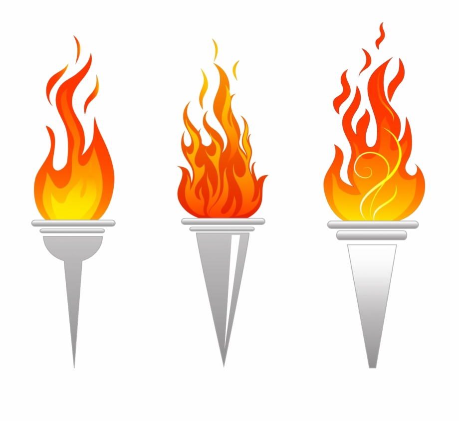 Olympic Torch Png File.