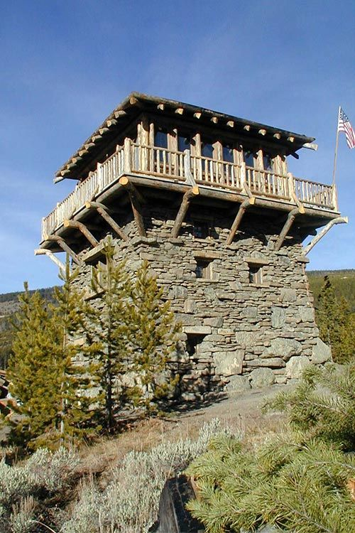 Fire Lookout Towers.