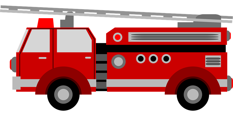 Fire engine red Firefighter Fire department Clip art.