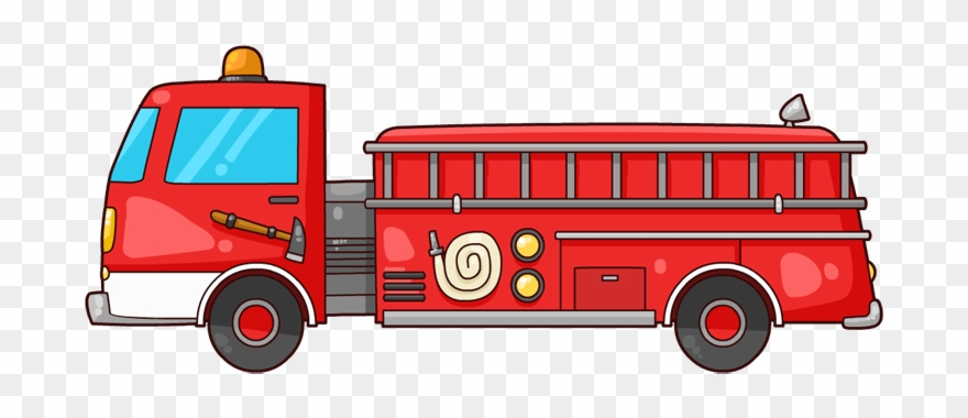 Free To Use Public Domain Fire Truck Clip Art.