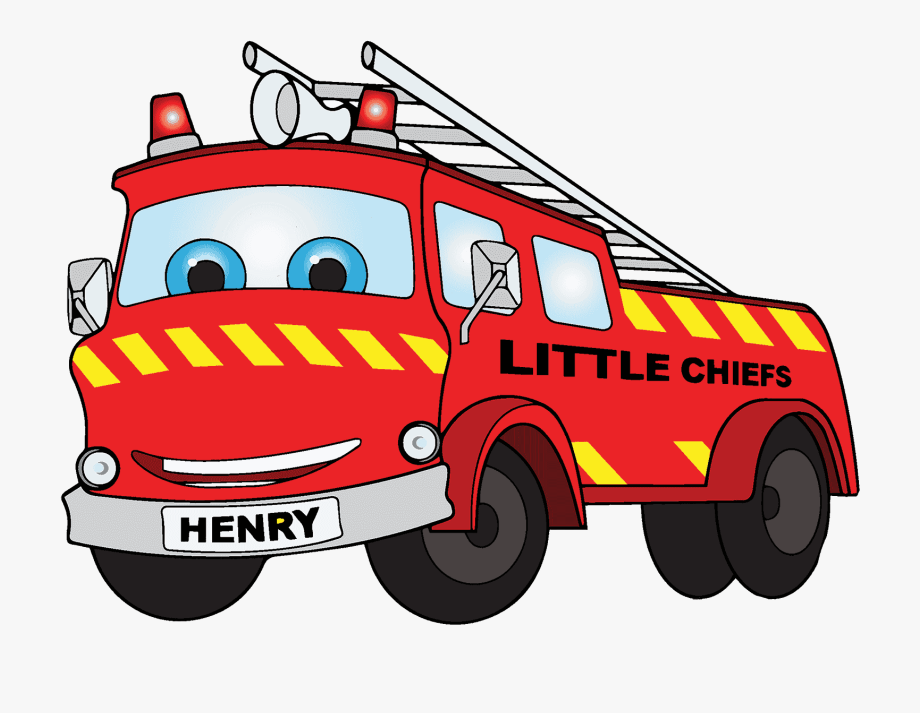 Fire Truck Clipart Track.