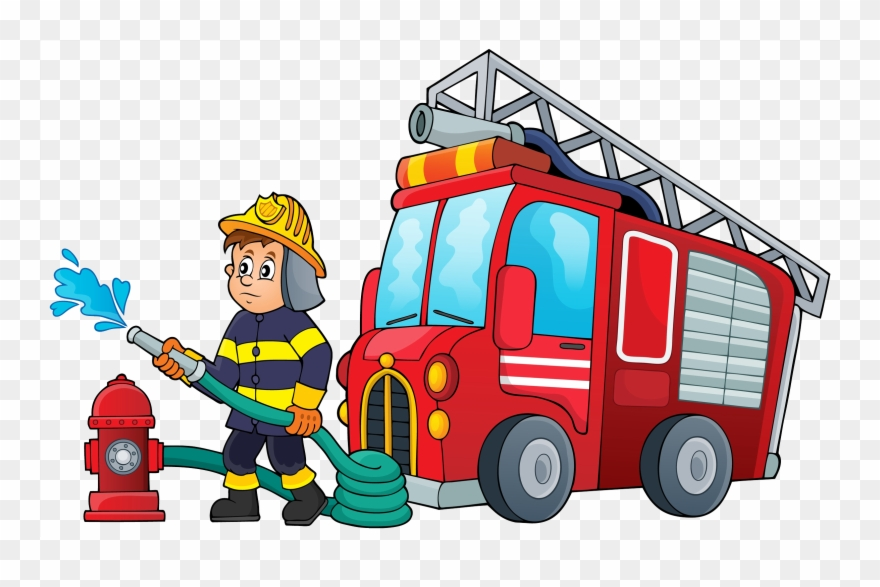 Cartoon Firefighter Pictures.
