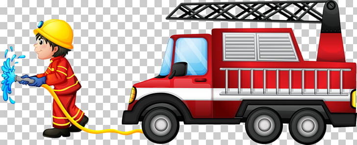 Fire engine Firefighter Fire station , Professional fire PNG.