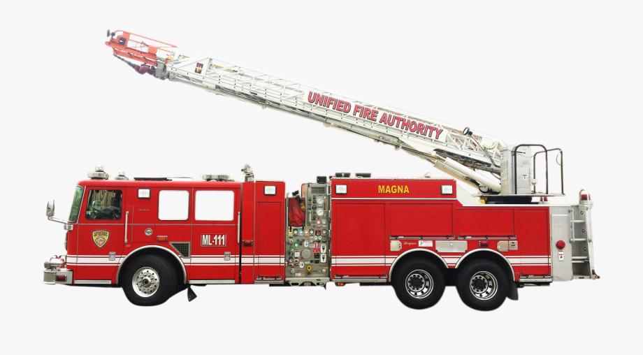 Ladder Fire Truck Png , Transparent Cartoon, Free Cliparts.