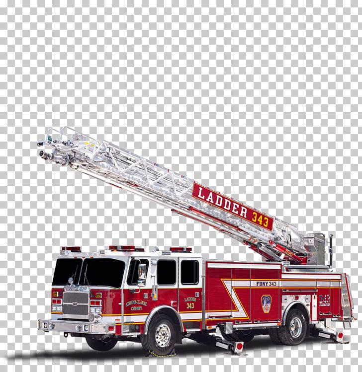 Fire engine Fire department Truck Ladder E.