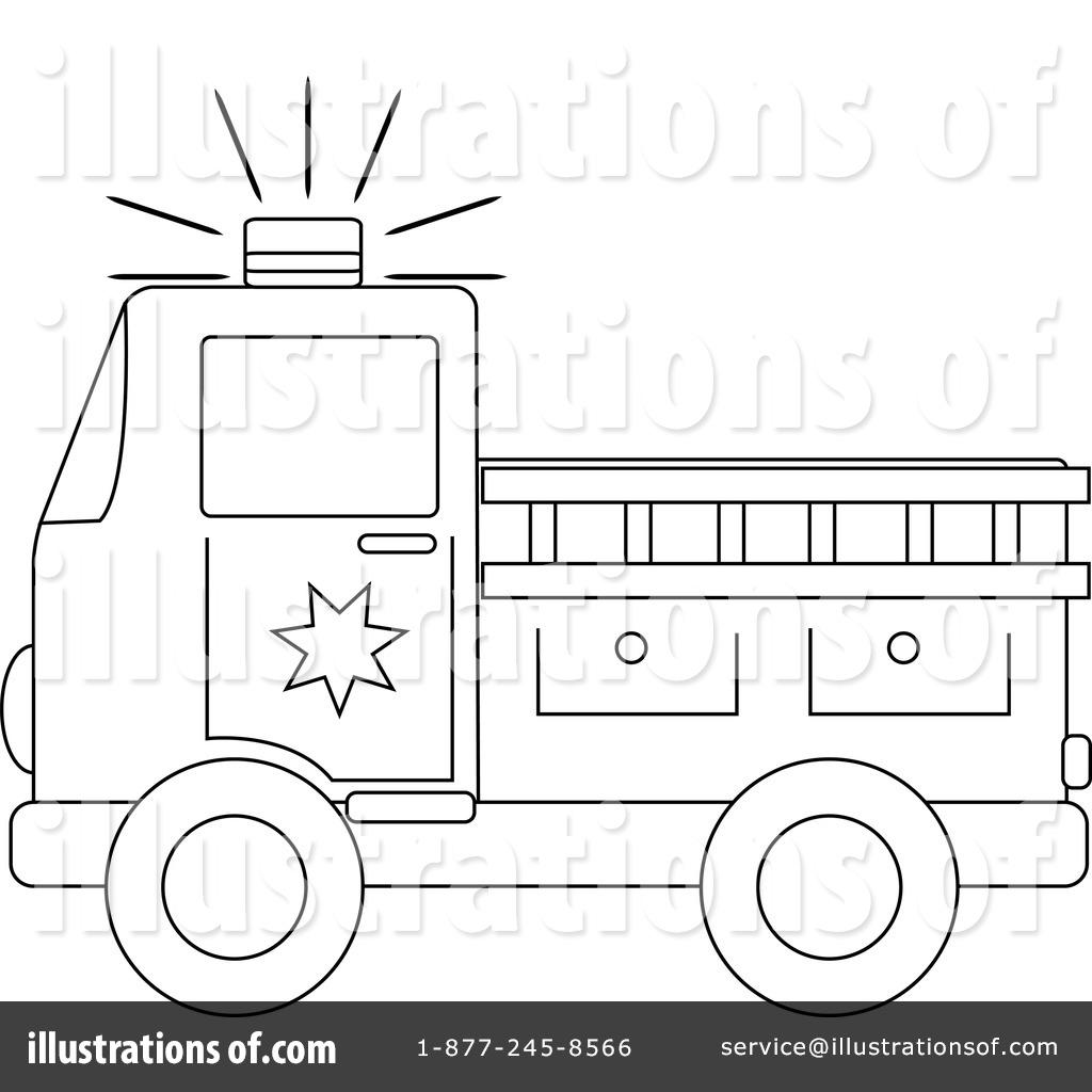Fire Truck Clipart #212299.