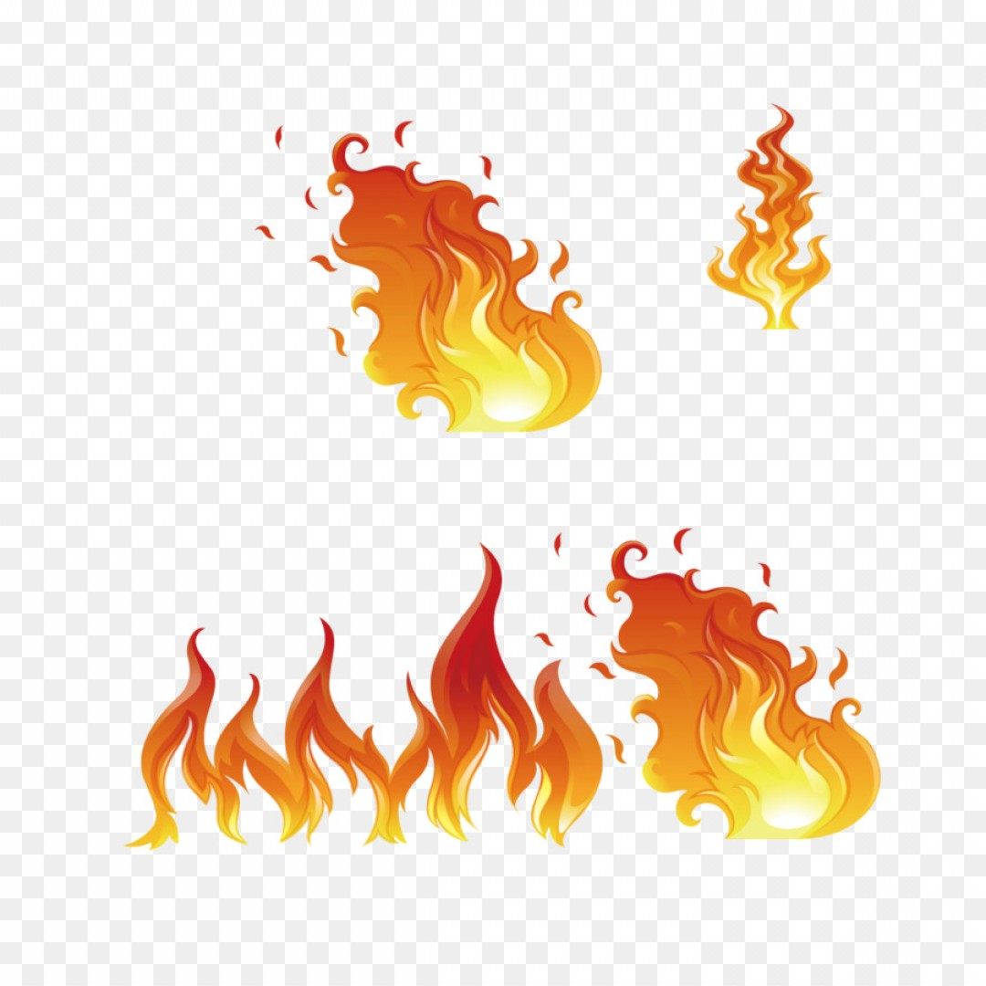 Png Flame Euclidean Vector Fire Illustration Vector Fl.