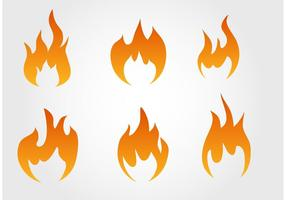 Fire Free Vector Art.