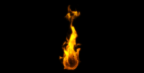 Fire Background Motion Graphics from VideoHive.