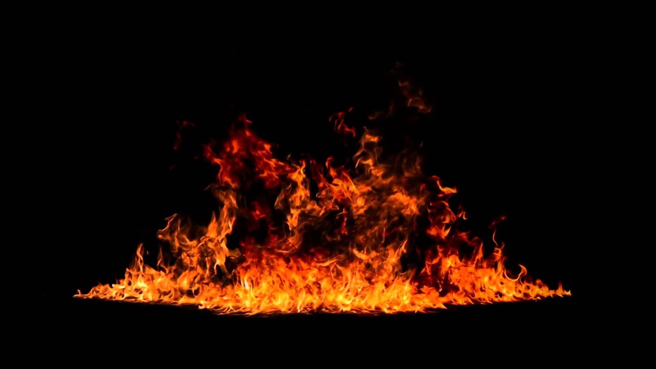 Fire Flames (Free Stock Footage) HD 1080P.