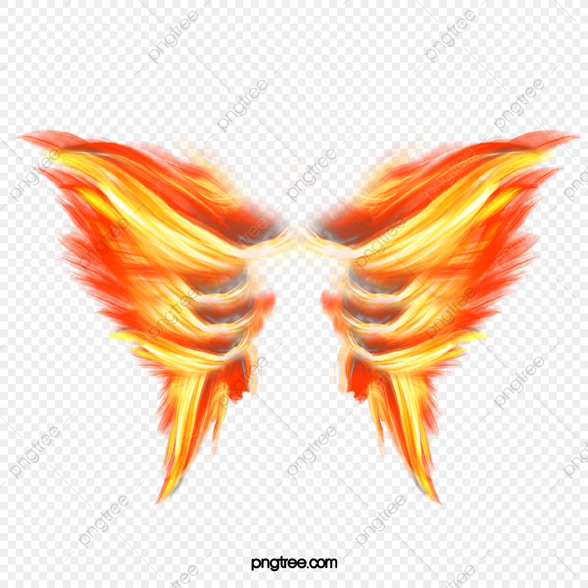Burning Wings, Wings Clipart, Fire PNG Transparent Clipart Image and.
