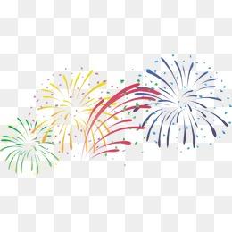 Fireworks PNG Images.