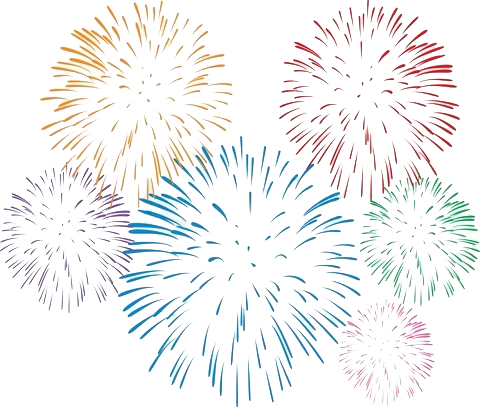 Fireworks PNG images free download.