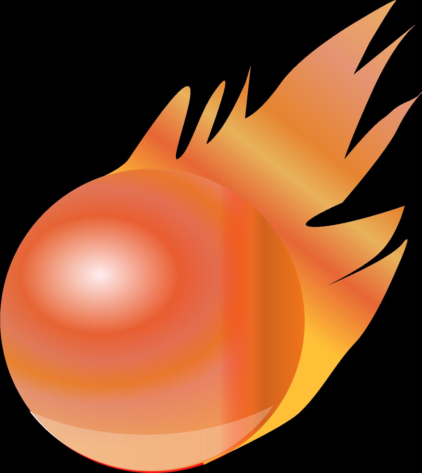 Fire Ball Clip Art.