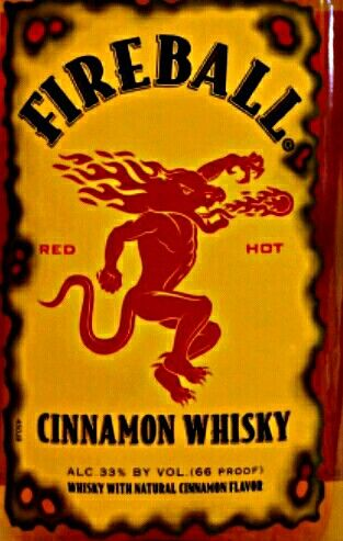 Fireball Whiskey Logo.
