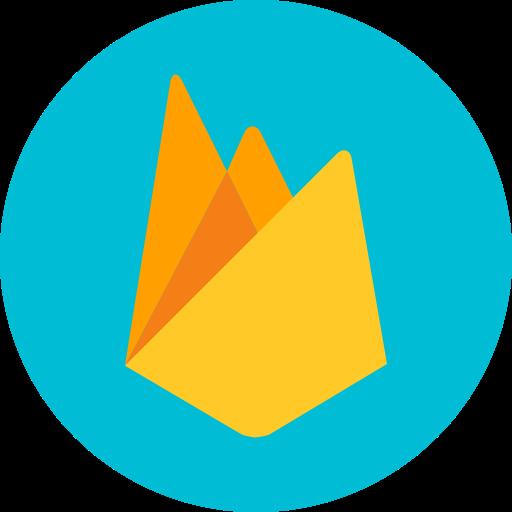 Coding, developer, firebase, google, programming icon.