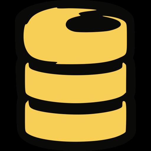 Firebase Logo Icon of Flat style.