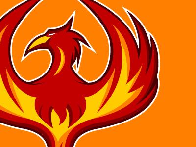 Phoenix Firebirds Logo v2 by Paul Robinson on Dribbble.