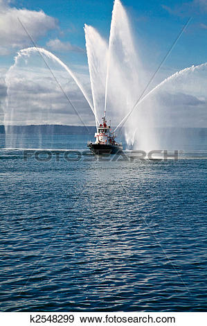 Stock Photograph of Fireboat k2548299.