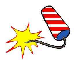 Firecracker Clipart.