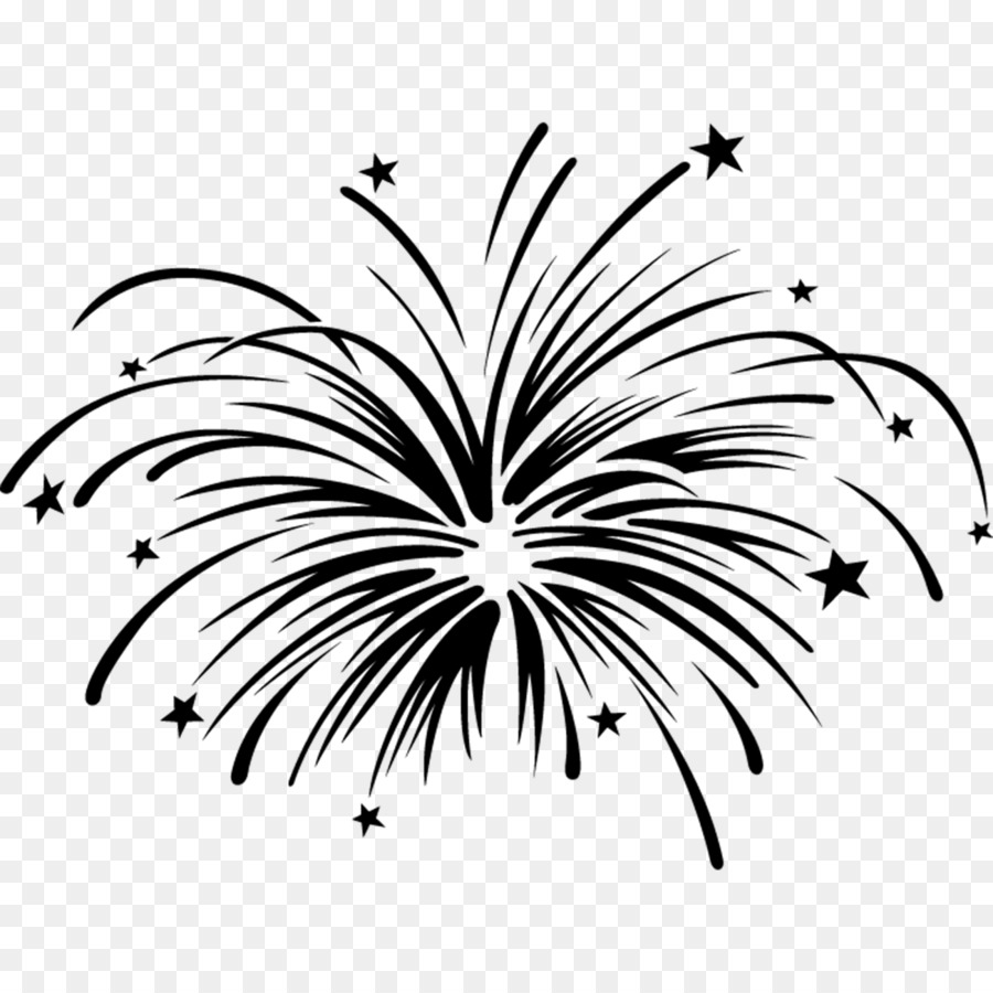 New Year Tree Drawing png download.
