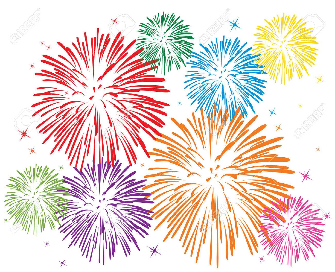 Clipart Fireworks & Fireworks Clip Art Images.