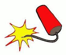 Free Firecracker Clipart.