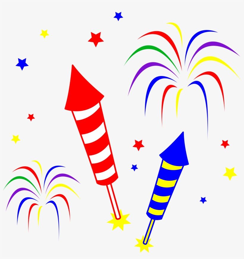 Clipart Fireworks Crackers.
