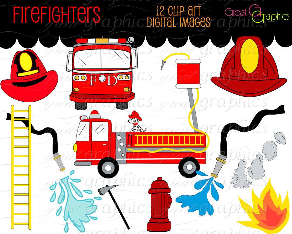Firefighter clip art.