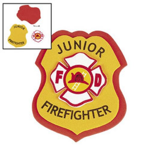 Firefighter / Fireman Badge DIY (6).