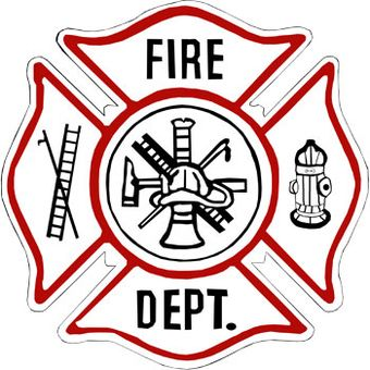 Firefighter Symbol Clipart.