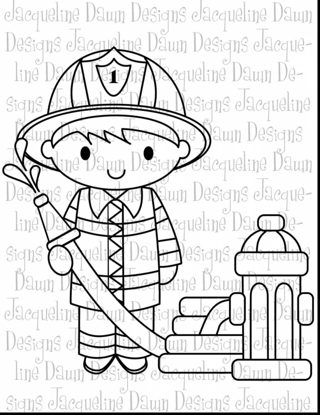 Top 20 Wonderful Unbelievable Firefighter Clip Art Black And.
