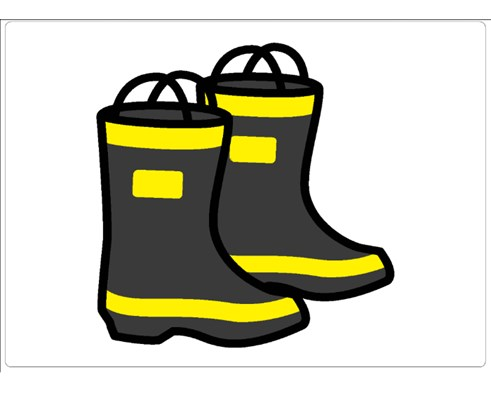firefighter boots gameboard.