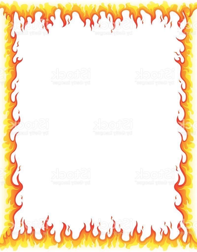 Fire Border Clipart.