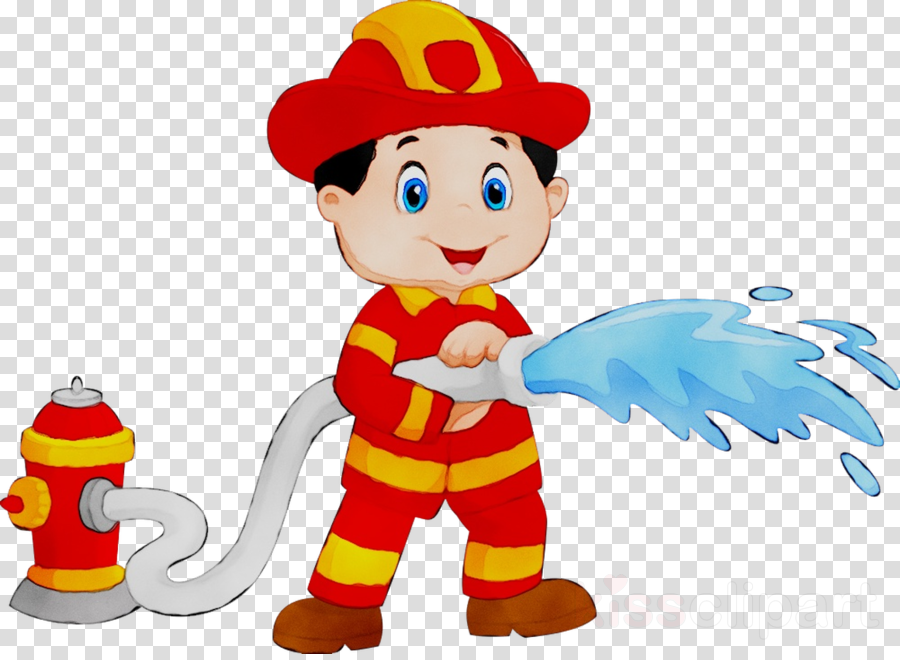 Firefighter Cartoon clipart.