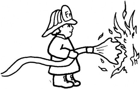 Collection of Fireman clipart.