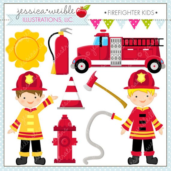 Firefighter clipart for kids 7 » Clipart Station.