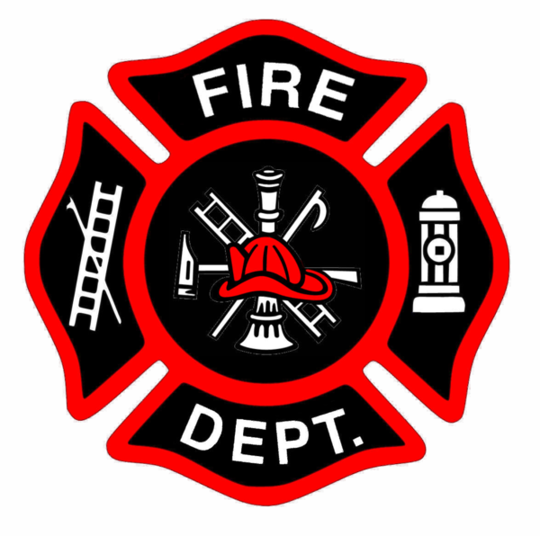 Fire Department Logo clipart.