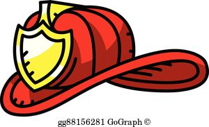 Firefighter Helmet Clip Art.