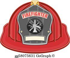 Firefighter Helmet Clip Art.